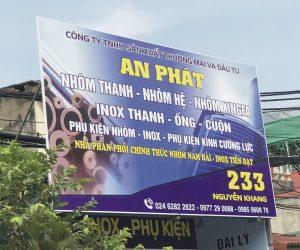 biển quảng cáo in bạt Hiflex