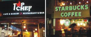 thiết kế biển quảng cáo quán cafe