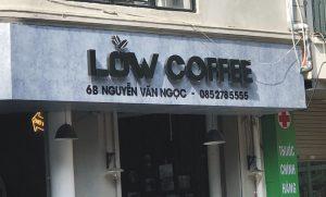 mẫu biển hiệu quán coffee mới nhất hiện nay