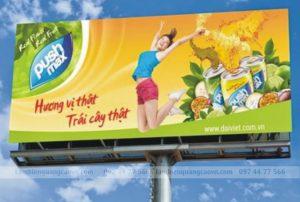 thiết kế biển quảng cáo ngoài trời