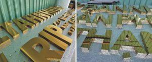 inox gương vàng - inox xước vàng đang được khách hàng tin tưởng lựa chọn bởi nhiều đặc điểm vượt trội mà nó mang lại