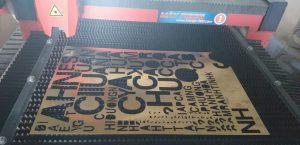 gia công cắt chữ nổi inox bằng công nghệ cắt laze hiện đại
