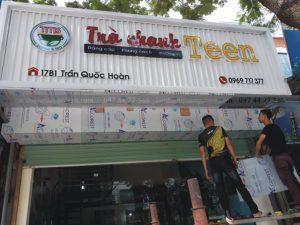 làm biển quảng cáo trà chanh chuyên nghiệp tại Hà Nội và các tình miền bắc
