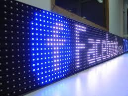vẻ đẹp dễ thấy của biển LED mã trận