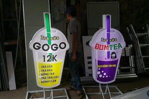 mô hình ly trà sữa độc đáo