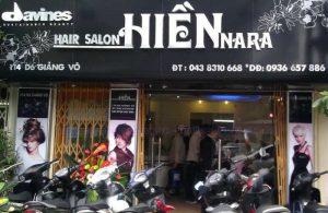 biển quảng cáo cắt tóc Alu chữ nổi Mica