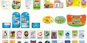 thiết kế in ấn các loại tem nhãn dán sản phẩm các loại chai lọ