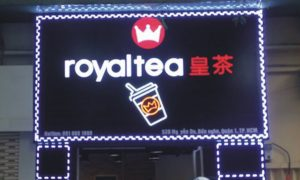 mẫu biển hiệu trà sữa