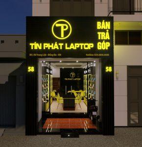 biển quảng cáo cửa hàng điện thoại laptop đẹp giá rẻ